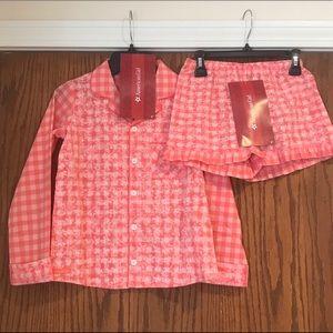American Girl Tenney girls pajama set size 14/16